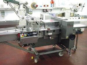 Горизонтальный упаковочный автомат flow-pack