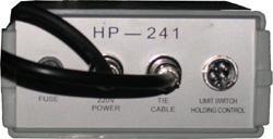 Блок управления термотрансферного принтера HP-241. Принтер может работать как в ручном, так и в автоматическом режиме